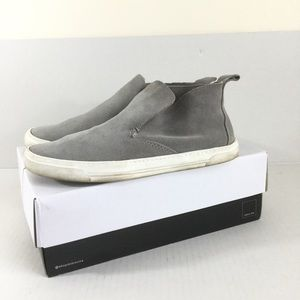 Dolce Vita Xavier Gray Suede On Sneakers